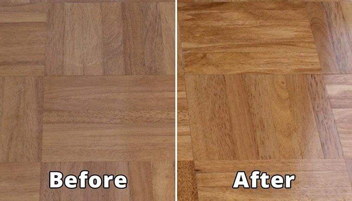 maintaining hardwood finish